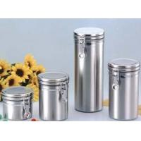 Buy cheap Stainless Steel Airtight Canister (Stainless Steel Cap) from wholesalers