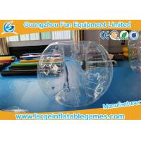 Buy cheap 1.8M TPU Inflatable Bumper Ball , Body Zorb Ball With 3 Years Warranty from wholesalers