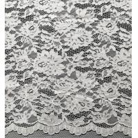 Buy cheap Nylon Bridal Lace Fabric With Flower and Leaf Pattern from wholesalers