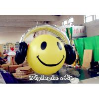Buy cheap Cute Wearable Earphone Mic Inflatable Smile for Event and Music Festival from wholesalers