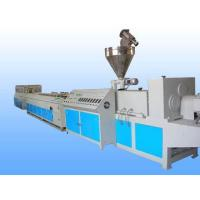 Buy cheap PP / PE WPC Making Machine , Decking Fence Profile WPC Extrusion Machine from wholesalers