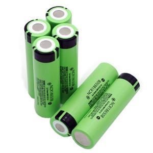 Buy cheap Deep Cycle 12.58wh Panasonic 18650 Battery 3400mAh product