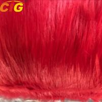Buy cheap Long Hairs Plain Synthetic Faux Fur Fabric For Sofa And Car Seat Cover product
