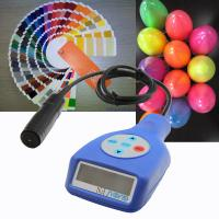 Buy cheap Portable guoou powder coating thickness gauge in different color measure the thickness on Aluminum and ferrous from wholesalers