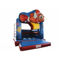 Buy cheap PVC inflatable bouncy reliable inflatable clown fish jumping durable inflatable jump house on sale from wholesalers