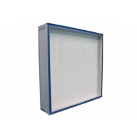 Buy cheap Medical GMP Gel Seal EN 1822 H13 / H14 HEPA Filter System For Clean Room product