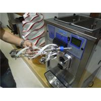 Buy cheap Countertop Triple Flavor Ice Cream Making Machine With Air Pump High Overrun from wholesalers