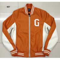 Buy cheap 007 Men's pu fashion baseball jacket coat stock from wholesalers