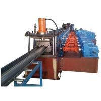 Buy cheap 3 Waves Highway Guardrail Roll Forming Machine Use Universal Coupling Export to Poland European Countries from wholesalers