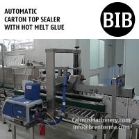 Buy cheap Automatic Hot Melt Glue Carton Box Sealer Bag-in-Box Case Sealing Machine from wholesalers