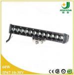 Buy cheap 24v single row cree led light bar 60W led light bars for trucks from wholesalers