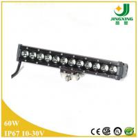 Buy cheap Russia single row 60W led light bar for car from wholesalers