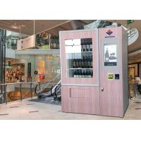 Buy cheap Automatic Combo Juice Beer Wine Vending Machine For Drink In Supermarket from wholesalers