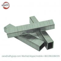 Buy cheap 4J series pneumatic air industrial staple 404,405,406,407,408,410,413,416,419,422 galvanized staples from wholesalers