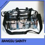 Buy cheap Professional clear pvc cosmetic bag transparent vinyl makeup bag from wholesalers
