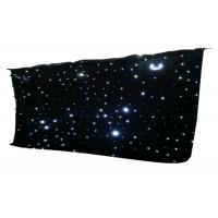 Buy cheap IP33 LED Curtain Lights Star Cloth Backdrops For Nightclub Stage Wedding Decoration from wholesalers