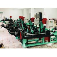 Buy cheap ISO9001 Full Automatic Barbed Wire Net Wire Fence Machine from wholesalers