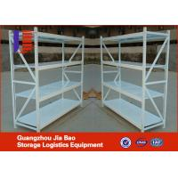 Buy cheap Powder Coated Finish Light Duty Racking System for Warehouse / Store Storage from wholesalers