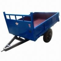 Buy cheap 1tone hydraulic tipping trailer from wholesalers