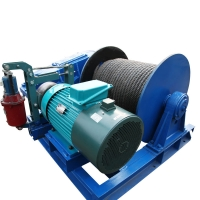 Buy cheap industrial workshop use motor driven wire rope electric crane trailer high speed electric winch with wireless remote from wholesalers