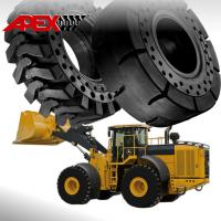 Buy cheap APEX Wheel Loader Solid Tire for John Deere Vehicle 15.5-25, 17.5-25, 20.5-25, 23.5-25, 26.5-25, 29.5-25, 35/65-33 from wholesalers