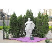 Buy cheap White marble Carving sculpture for garden from wholesalers
