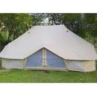 Buy cheap 100% Cotton Canvas Fire Retardant Tarpaulin Outdoor Camping Bell Tents from wholesalers