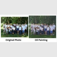 Buy cheap Realistic Custom Oil Painting Portraits /  Personalized Oil Painting Family Portraits from wholesalers
