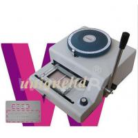 Buy cheap PVC ID cards Embosser machine + indent print 2in1 EI72 from wholesalers