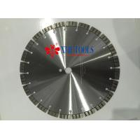 Buy cheap 800mm 900mm Turbo Laser Welded Saw Blade , 12 inch Diamond Masonry Blade from wholesalers