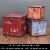 Buy cheap Vintage European MDF Storage Trunk Box Small Treasure Chest for Kids Girls Boys Gifts from wholesalers