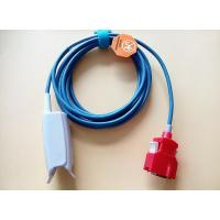 Buy cheap 3M Wire 20 Pin Masimo Reusable Spo2 Sensors , Red Connector Spo2 Finger Probe from wholesalers
