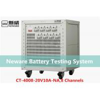 Buy cheap Low Heat Generate Neware Battery Testing System , 18650 Battery Capacity Tester from wholesalers
