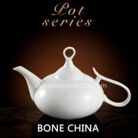 Buy cheap 650ml Bone Chine Tea Pot Personalized Ceramic Coffee Pot with Lid from wholesalers