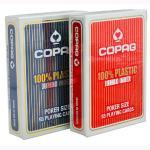 Buy cheap XF Belguim Copag jumbo face Black Poker Size 2 Index Single Deck plastic card gamble cheat poker chips magic trick from wholesalers