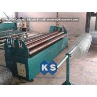 Buy cheap Customized Adjustable Wire Tension Device Winding Machine Gabion Box Production Line from wholesalers