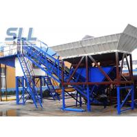 Buy cheap Wet Mix Portable Cement Batch Plant / Mobile Concrete Mixing Plant Without Cement Silo from wholesalers