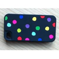Buy cheap Four color round pointed black design mobile phone cover phone protective covers from wholesalers