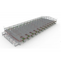 Buy cheap Roller Door Prefabricated Anti Rust Steel Structure Workshop from wholesalers