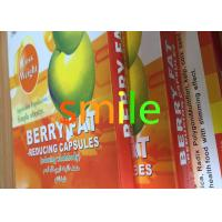 Buy cheap Adults Berry Leisure Slimming Capsule , Organic Max Diet Pills No Side Effect from wholesalers