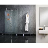 Buy cheap PVC Vinyl Decorative Interior Shower Interlocking Wall Panels from wholesalers