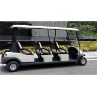 Buy cheap Comfortable Electric 6 Passenger Golf Carts For Mountain Energy Saving product