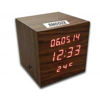 Buy cheap Digital LED Wooden Clock with Calendar, Radio, Bluetooth and Loudspeaker from wholesalers