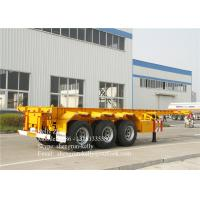 Buy cheap 40ft 3 axles trailer chassis 40tons capacity 40ft shipping container trailer from wholesalers