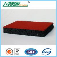 Buy cheap Wear Resistance Outdoor Playground Rubber Tiles , Safety Kids Floor Pads from wholesalers