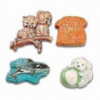 Buy cheap Special Printed 3D Polyresin Magnets, Customized Designs are Accepted from wholesalers