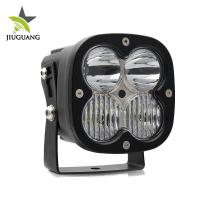 Buy cheap Waterproof Led Driving Lights , Led Spotlights 4x4 Logo Laser Printed from wholesalers