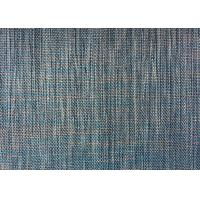 Buy cheap Sofa Yarn Dyed Plain Woven Fabric Gray Linen Polyester Backing from wholesalers