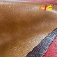Buy cheap Vinyl Pvc Synthetic Leather For Bag, Sofa, Furniture 0.6-0.75mm product