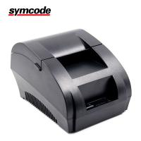 Buy cheap Portable Thermal Receipt Printer , POS 58 Printer Supporting Embedded from wholesalers